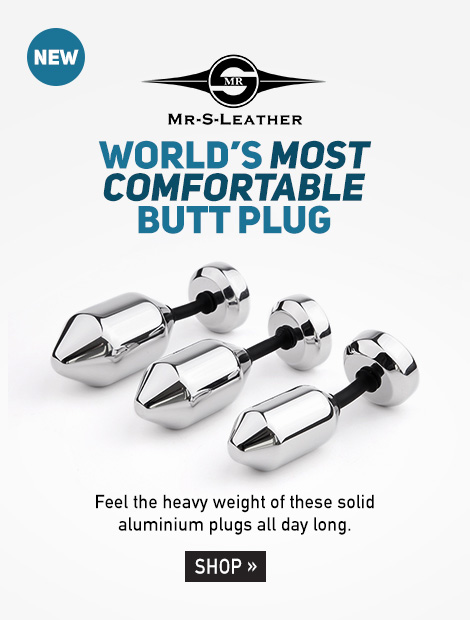 Worlds Most Comfortable Butt Plug
