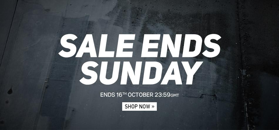 Ends Sunday