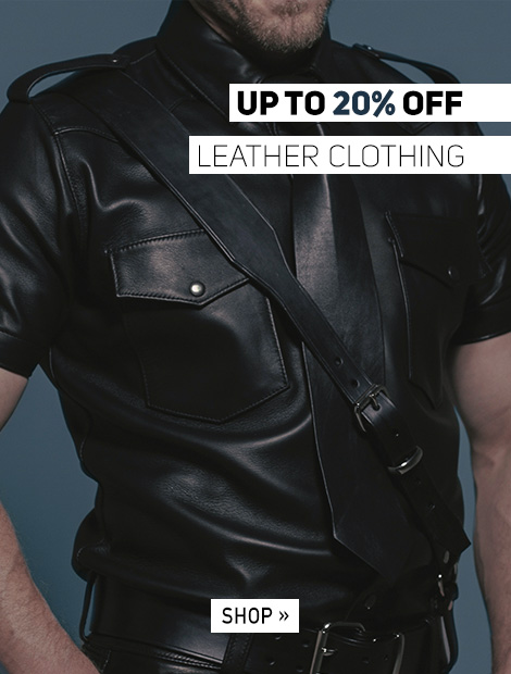 Up to 20% off Leather Clothing