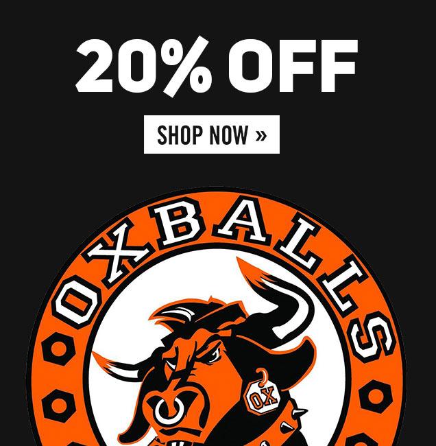 Oxballs - 20% Off
