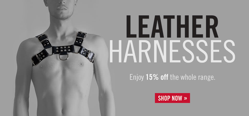 15% Off Leather Harnesses