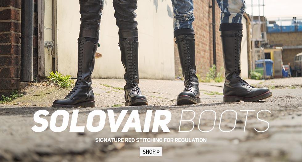 Regulation Solovair Boots