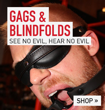 Shop - Gags & Blindfolds